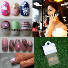 NFC Nail Art LED Flashing Light Sticker With 17 Decorative Nail Art Stickers Hot