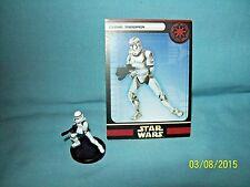 Unc WotC Star Wars Miniatures Super Battle Droid Commander Sep Universe 11//60