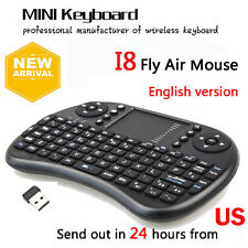 IPAZZPORT Mini Wireless Keyboard Touchpad Fly Air Mouse for iPad/Android TV Box