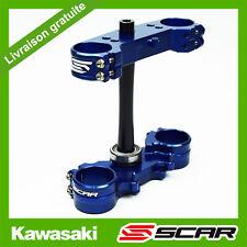 TE T DE FOURCHE KAWASAKI KX250F KX450F KXF 250 450 2015-2019 BLEU SCAR