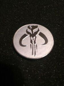 Star Wars / Mandalorian Mythosaur - 1 Unze Silbermünze - .999 Silber Münztasche