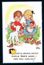 ATTWELL, Mabel Lucie - What a Lovely World Postcard #11929