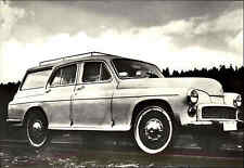 AUTO Motiv-Postkarte CSSR Automobil Caar WARSZAWA CSD anno 1969 Deszina Dresine