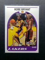 1999-00 SkyBox NBA Hoops Kobe Bryant '89 Retro Insert, Los Angeles Lakers
