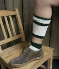 KIDSTRACHT Trachtensocken Strümpfe Gr 21 - 40 Loferl wollweiß grün Socken Tracht