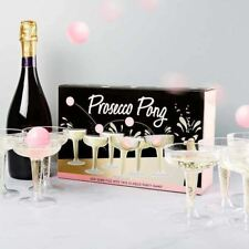Prosecco Pong Birthday Hen Stag Party Adult Drinking Beer Pong Game Set Gift