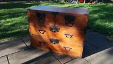 YAMABUSHI TANSU MAHOGANY CHEST  ISHO-DANSU   JAPANESE FURNITURE