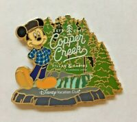 Disney Pin Badge DVC - Copper Creek Villas and Cabins Mickey Mouse