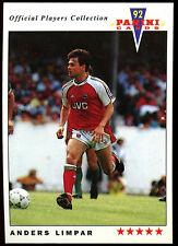 Anders Limpar Arsenal #12 Panini Football 1992 Card (C358)