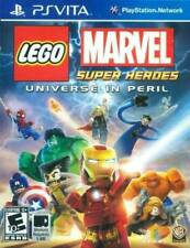 LEGO Marvel Super Heroes Universe in Peril PS Vita Game NEW