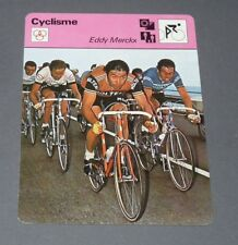 FICHE CYCLISME EDDY MERCKX MOLTENI CANNIBALE TOUR FRANCE WIELRIJDER CICLISMO