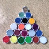 20g Epoxy Resin Craft Pigment/Dye Powder - 80 COLOURS * FREE POSTAGE *