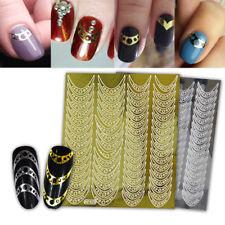Adesivo sticker Circle decorazioni unghie unghia adesivi manicure nail art