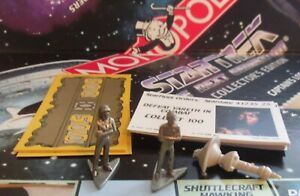 Monopoly Star Trek The Next Generation Game Spare Replacement Parts Pieces