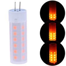 G4 Flickering Flame Fire Effect LED Bulb 12V 2W Corn Light Retro Decoration Lamp