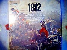 TCHAIKOVSKY  1812 Overture & Serenade  EX/EX ORMANDY PHILADELPHIA ORCH
