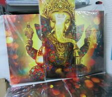 Ganesha Hindu God 5 Pieces canvas Wall Art Picture Poster Home Decor