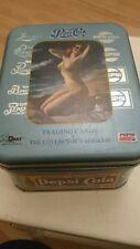 pepsi cola trading cards series 2 plus tin
