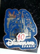 Disneyland Paris 10 Years Castle Tinker Bell   PIN Walt Disney