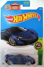 Hot Wheels McLAREN P1 - Blue 2016 HW Exotics 1/10 10sp hypercar sportscar coupe