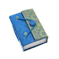 Commerce équitable fait main mini bleu sari journal - 2nd qualité