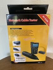 Nf 8209 Network Cable Tester Digital Wire Tracker With Poe Set Open Box