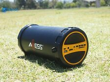 Bluetooth Portable Speaker Wireless Bass Super Stereo Pc New Tablet With Yellow