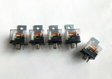 5pcs. T45F24 Clear Housing 12V 5 Pin 30/40 Amp Relay for Car Installation System