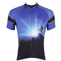 Conquerors Cycling Sport Jersey Men's Bicycle Clothing MTB Bike Shirt Top S-5XL