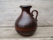 SCHEURICH Vase / Midcentury Vintage West-Germany Pottery / sign 495 size 16 cm