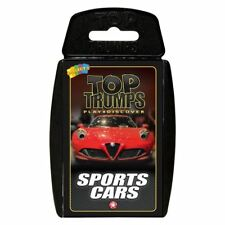 Sport Cars Top Trumps Card Game