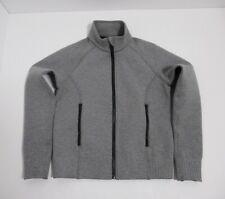 Lululemon Women's NTS Jacket Color Heathered Medium Grey / Black Size 6