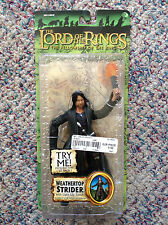 Weathertop Strider Light Up Torch Lord of the Rings Action Figure Mint on Card