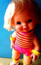 BAMBOLA VINTAGE BABY SKATES MATTEL