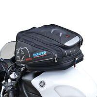 Oxford Motorbike/Motorcycle X30 QR Quick Release Tank Bag Luggage Black - OL266