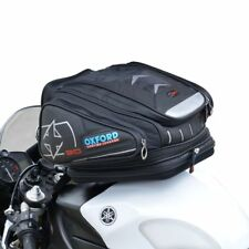Oxford Motorbike/Motorcycle X30 QR Quick Release Tank Bag Luggage Black - OL266