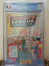 Justice League of America 28 CGC 4.5 Flash Wonder Woman Aquaman