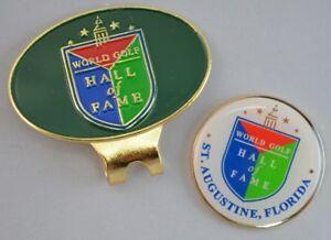 WORLD GOLF HALL OF FAME  Logo HAT CLIP & BALL MARKER