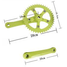 Bike 44T 170mm Aluminum Crankset Single Speed chainwheel Fit Crank cycling