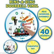 Thomas & Friends Doorbell Vinyl,140 Wall Stickers Glow In Dark Room