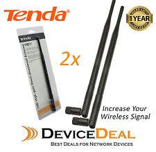 Tenda Q2407 7dBi High-gain Omni-directional Antenna for wireless Router (2 Pack)