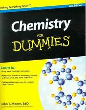 Chemistry for Dummies by John T. Moore (2011, Paperback)