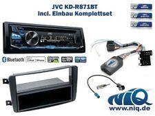 Mercedes C-Klasse (W203) Autoradio Einbauset *Schwarz* inkl. JVC KD-R871BT und .