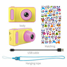 "PINK - Kids Childrens Fun Holiday Digital Camera & Video Camcorder 2.0"" HD  - UK"