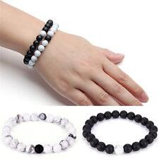 2x parejas su y su distancia pulsera de lava de perlas a juego yinyang amantesES