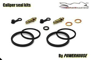 Suzuki GSF 600 Bandit rear brake caliper seal rebuild repair kit 1998 1999