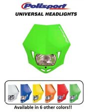Polisport Green MMX Universal Headlight Dirtbike Motocross Bike Yamaha