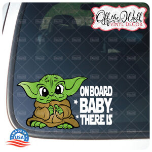 """Baby Yoda Child """"Baby, Kid, Kids OR Child on Board"""" BUYERS CHOICE - Sign"""