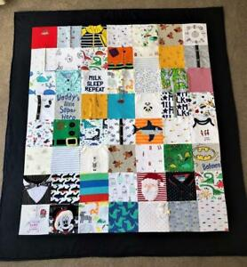 Keepsake memory blankets  Made from  clothes