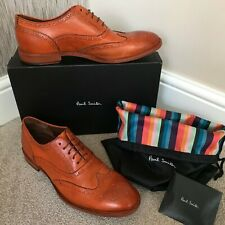 PAUL SMITH MUNRO FLEXIBLE TRAVEL BROGUE SHOES MADE IN ITALY SIZE 10 RETAIL £345